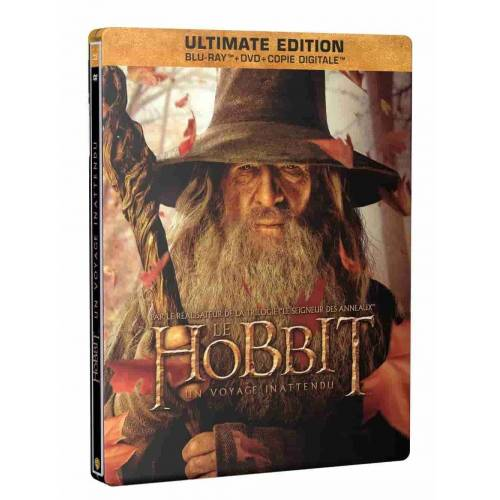 Blu-ray - Le Hobbit : Un voyage inattendu - Ultimate Edition SteelBook Gandalf