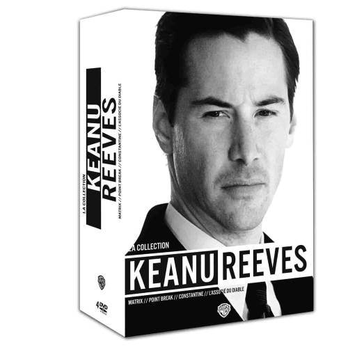 DVD - La Collection Keanu Reeves : Matrix + Point break + Constantine + L'associé du diable