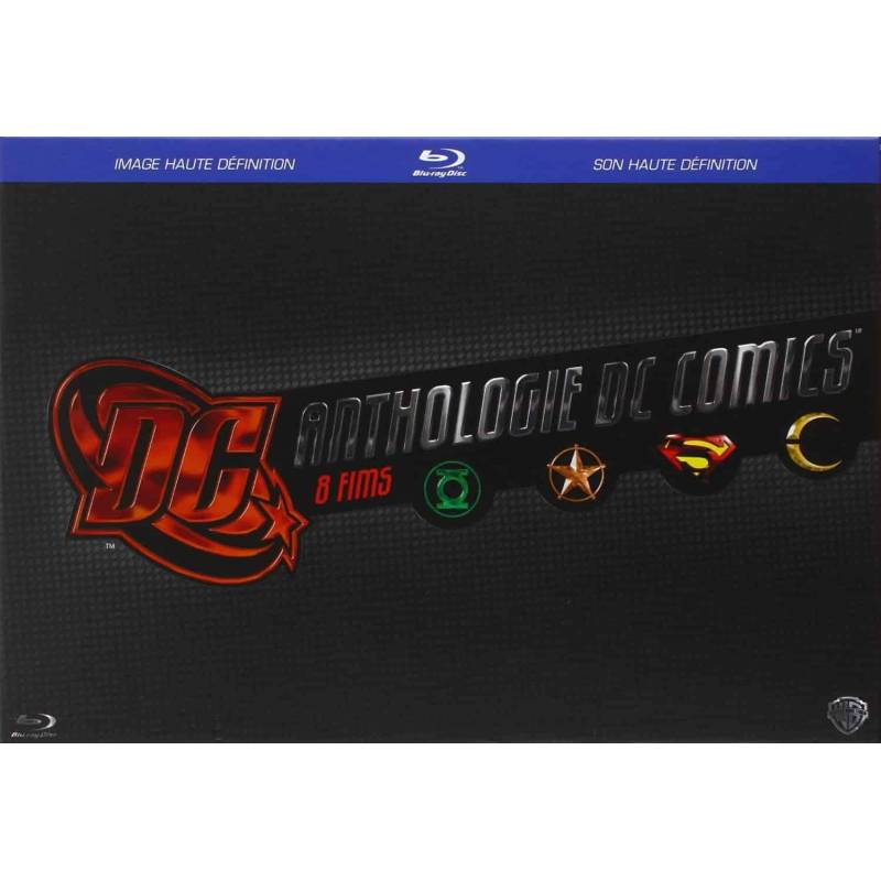 DC COMICS ANTHOLOGIE - LES FILMS - 8 BLU-RAY