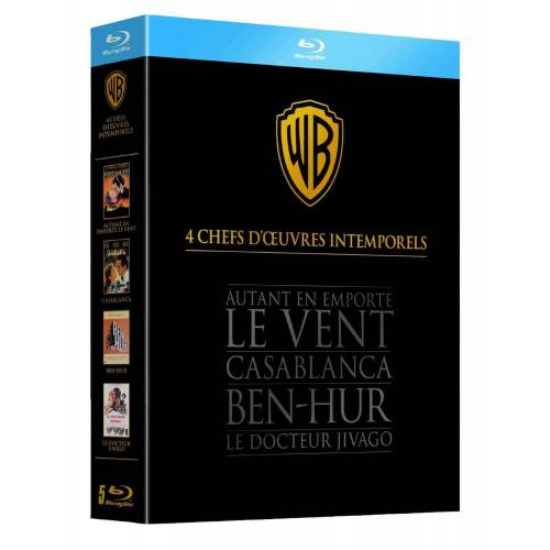 Blu-ray - 4 HEADS OF WORKS Oscar winners - BOX