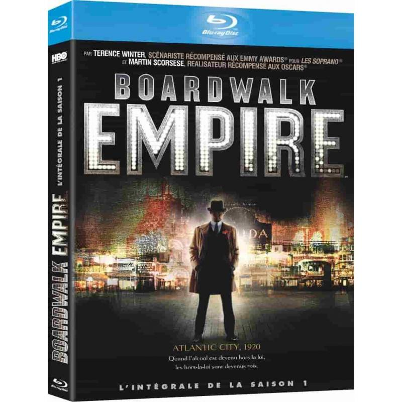 Blu-ray - BOARDWALK EMPIRE - SAISON 1