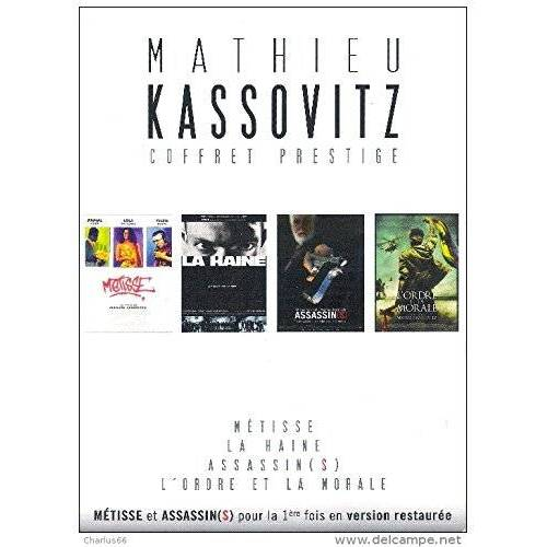 MATHIEU KASSOVITZ: HATE / ASSASSINS / EBONY / ORDER AND MORAL - 4 DVD BOX