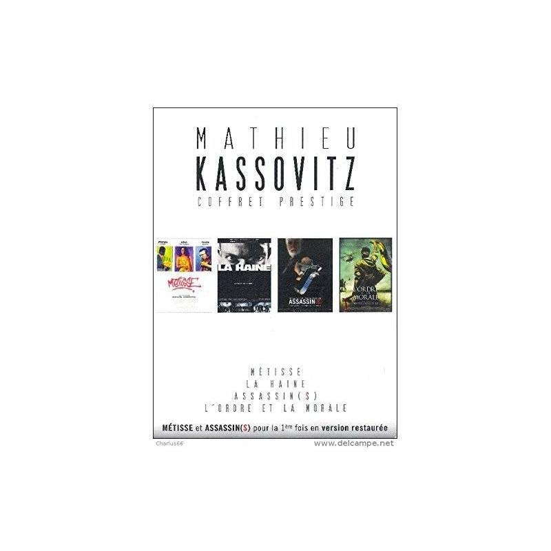 MATHIEU KASSOVITZ : LA HAINE / ASSASSINS / MÉTISSE / L'ORDRE ET LA MORAL - COFFRET 4 DVD
