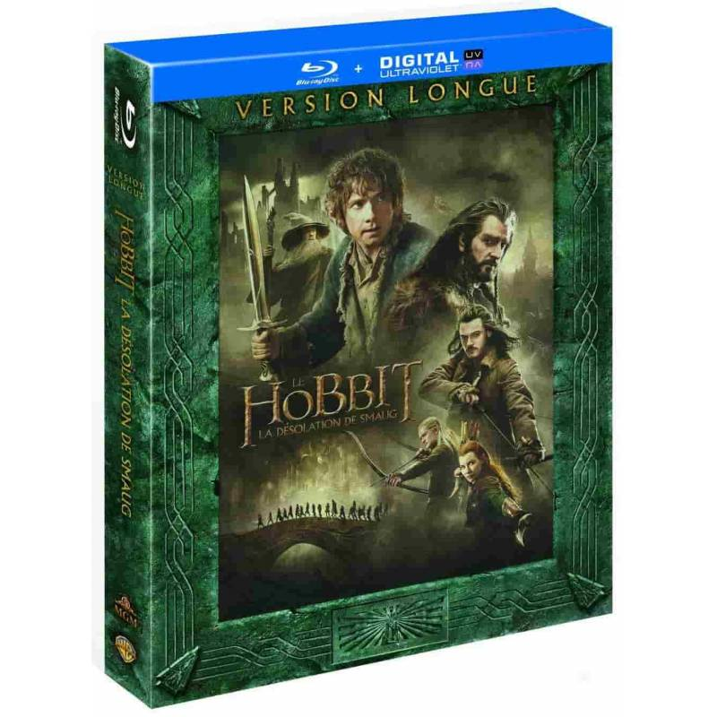 Blu-ray - Le Hobbit : La désolation de Smaug - Version longue