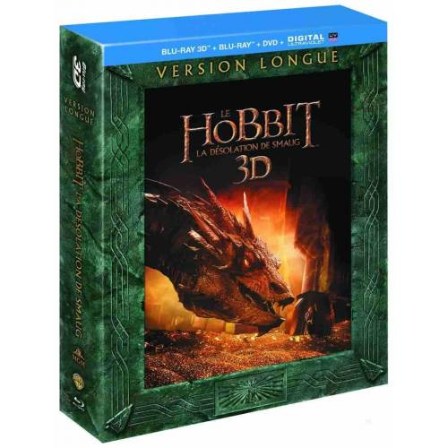 Blu-ray - The Hobbit: The Desolation of Smaug - Long Version