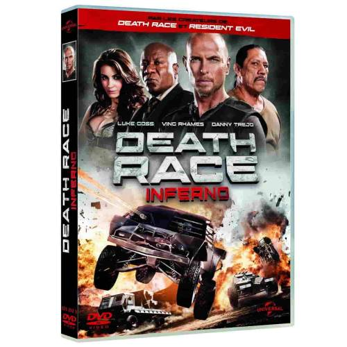DVD - DEATH RACE: INFERNO