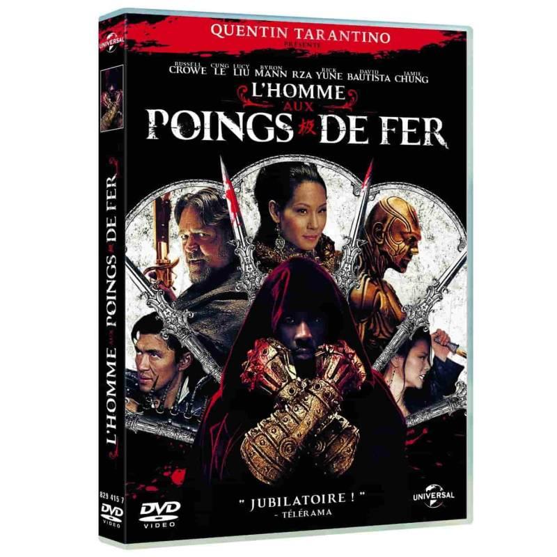 DVD - L'homme aux poings de fer