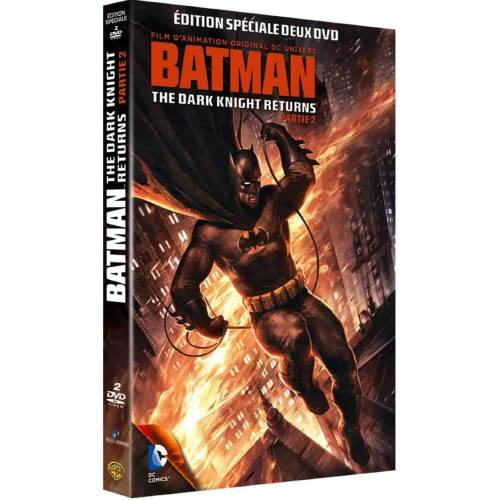 DVD - BATMAN : THE DARK KNIGHT RETURNS, PARTIE 2