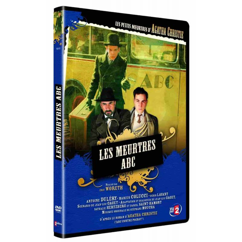 DVD - Les meurtres ABC