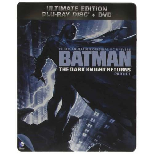 Blu-ray - Batman : The Dark Knight returns Partie 1 - Edition steelbook (Blu-ray + DVD)
