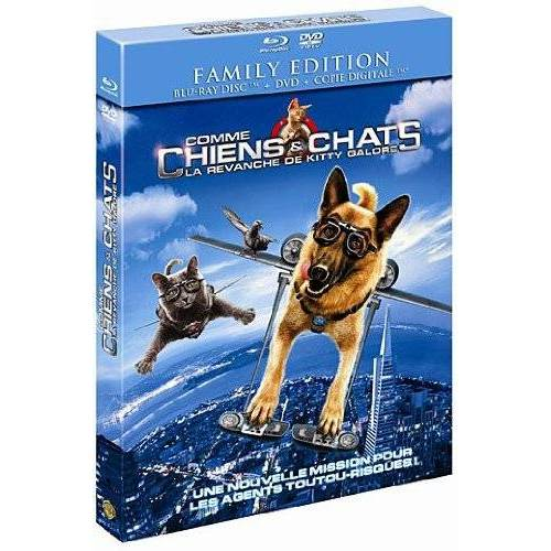 Blu-Ray - COMME CHIENS ET CHATS - LA REVANCHE DE KITTY GALORE ( COMBO )