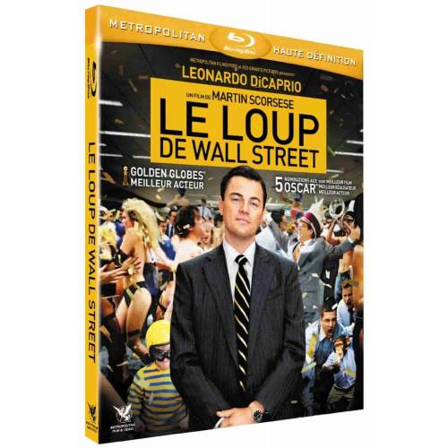 Blu-ray - Le loup de Wall Street