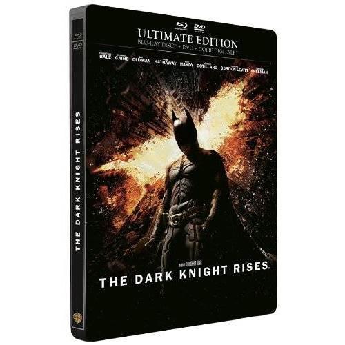 Blu-ray - BATMAN - THE DARK KNIGHT RISES - ÉDITION LIMITÉE BOÎTIER MÉTAL