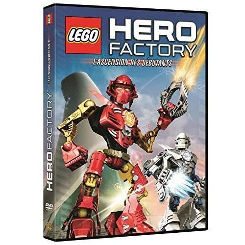 DVD - Lego hero factory : L'ascension des débutants
