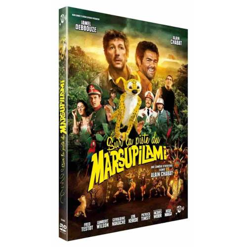 DVD - Sur la piste du marsupilami - Edition simple