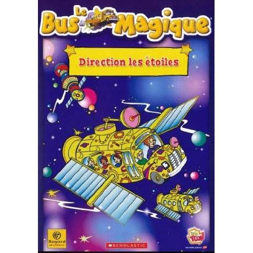 DVD - THE MAGIC BUS - DIRECTION THE STARS