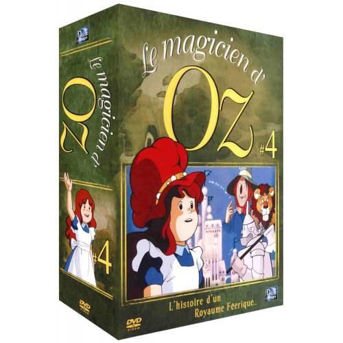 DVD - LE MAGICIEN D'OZ - PARTIE 4 - COFFRET 4 DVD - VF