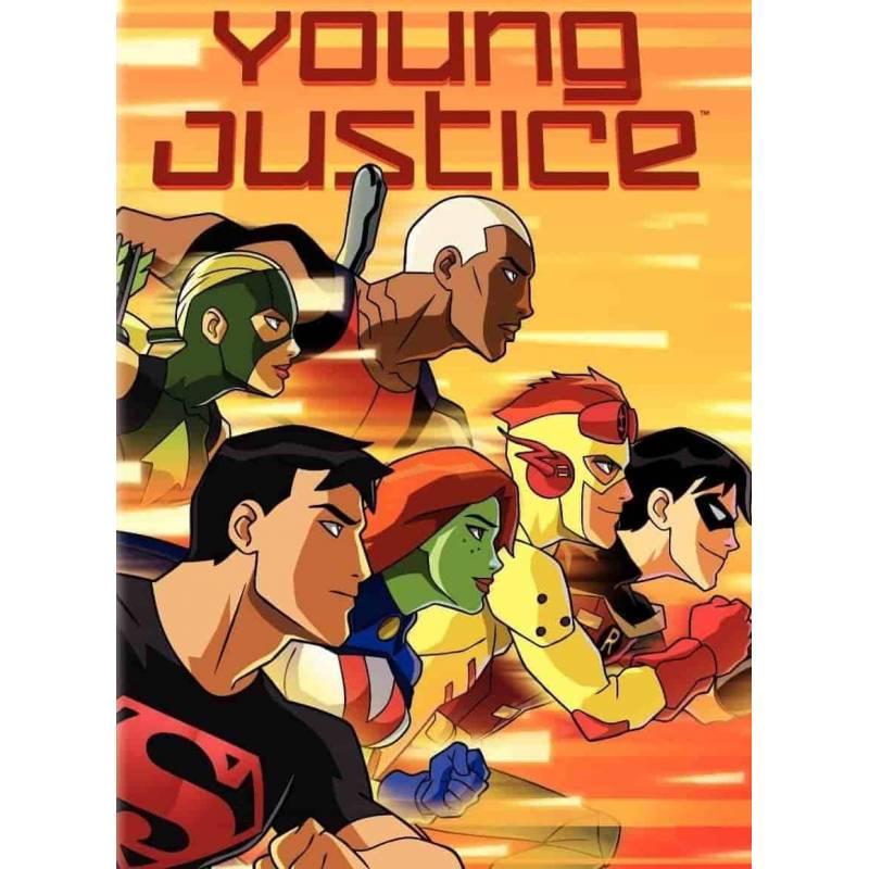 DVD - Young Justice : Saison 1 Vol. 1 et 2