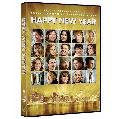 DVD - HAPPY NEW YEAR