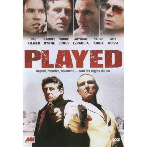 DVD - PLAYED