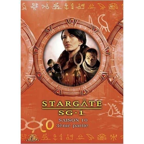 DVD - Stargate SG-1 : Saison 10 - Partie 3