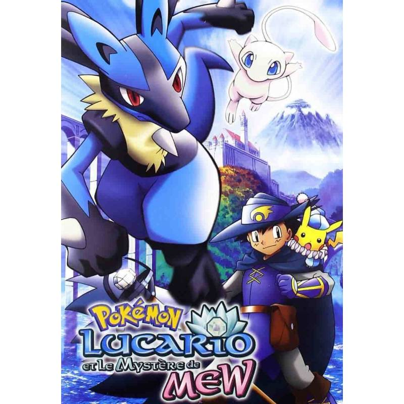 DVD - Pokémon: Lucario and the Mystery of Mew