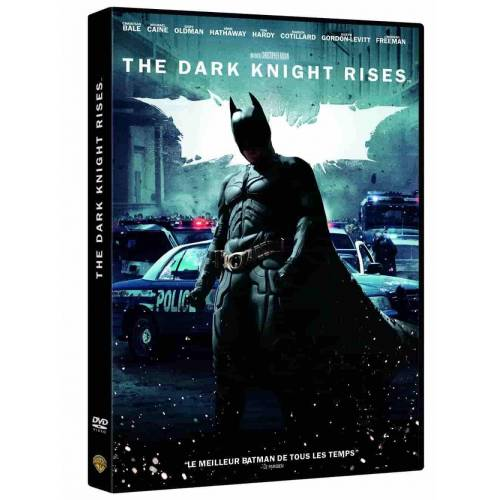 DVD - BATMAN - THE DARK KNIGHT RISES