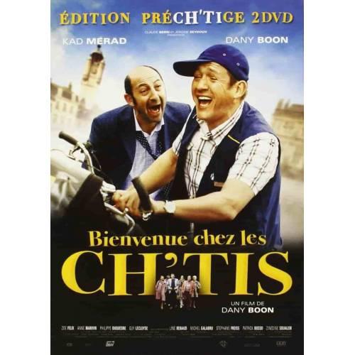 DVD - Bienvenue chez les Ch'tis