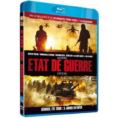 Etat De Guerre (5 Days Of War) [Blu-ray]