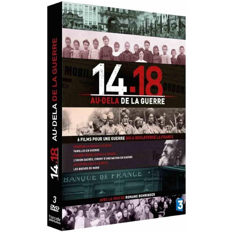 DVD - 14-18 AU DELA DE LA GUERRE