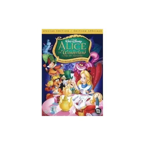 DVD - Alice au pays des merveilles