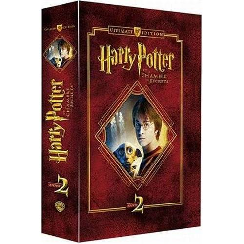 DVD - Harry Potter and the Chamber of Secrets - 4 DVD Box