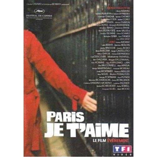 DVD - Paris je t'aime