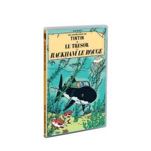 DVD - The Adventures of Tintin: The Red Rackham's Treasure