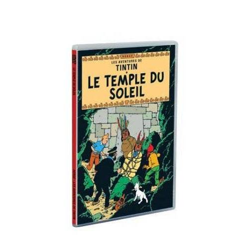 DVD - The Adventures of Tintin: The Temple of the Sun