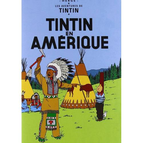 DVD - The Adventures of Tintin: Tintin in America