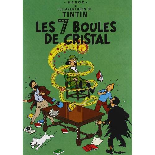 DVD - The Adventures of Tintin: The 7 Crystal Balls