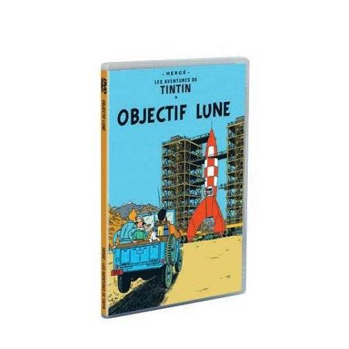 DVD - The Adventures of Tintin: Destination Moon