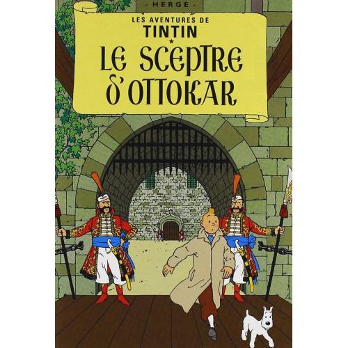 DVD - The Adventures of Tintin: The scepter of Ottokar