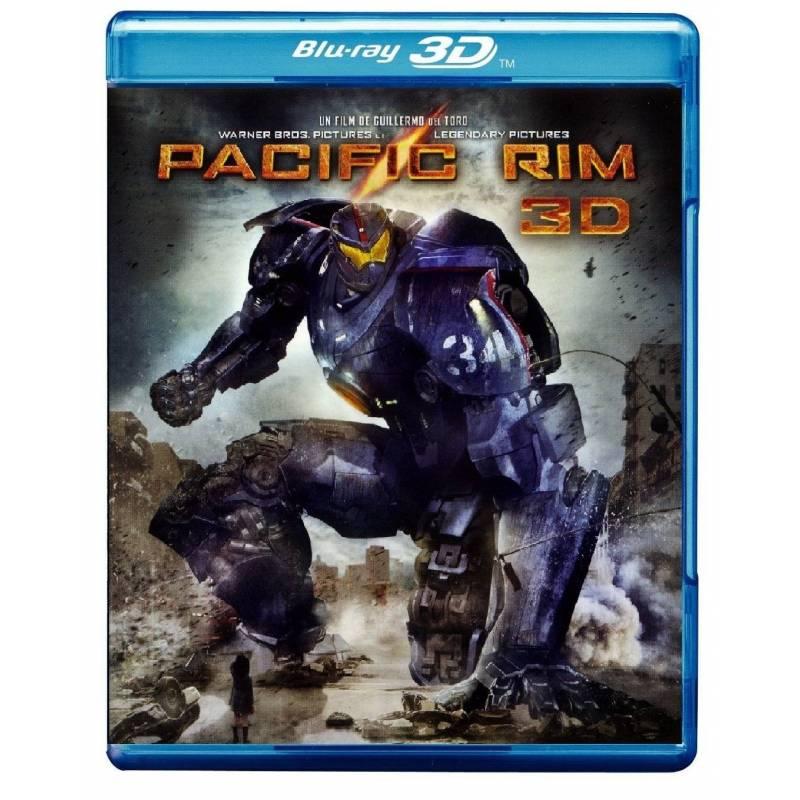 Blu-ray - Pacific Rim - 3D
