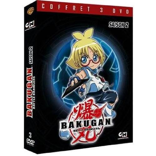 DVD - Bakugan battle brawlers : Saison 2
