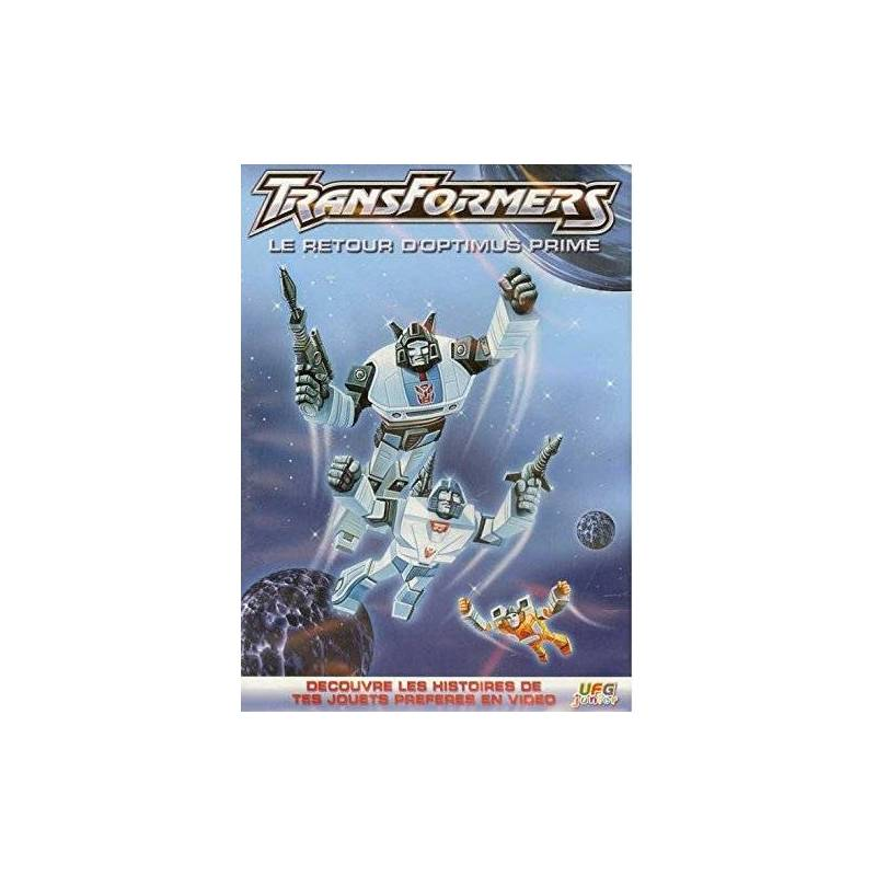 DVD - TRANSFORMERS - THE RETURN OF OPTIMUS PRIME