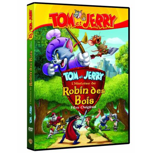 DVD - Tom and jerry: robin des bois /5 DVD
