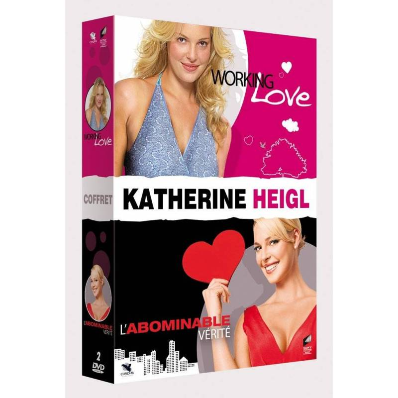 DVD - Coffret Katherine Heigl : Working Love + L'abominable vérité