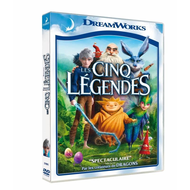 DVD - Les cinq légendes