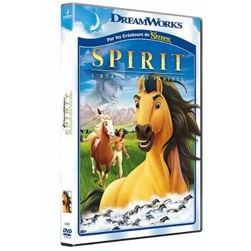 DVD - Spirit, Stallion of the plains