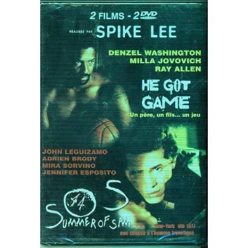 DVD - Spike Lee - 2 films : Summer of Sam + He got game