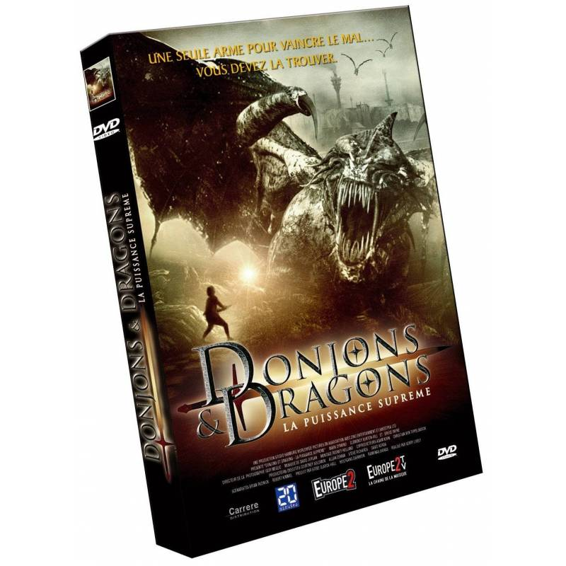 DVD - Donjons & dragons : La puissance suprême