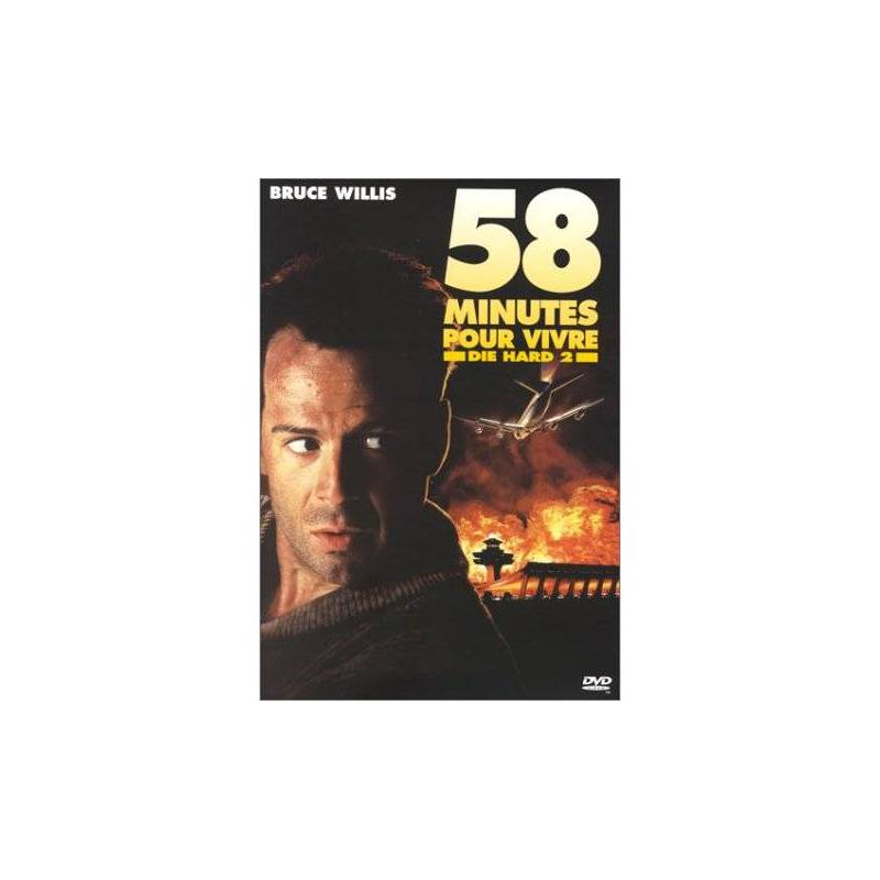 DVD - 58 minutes to live