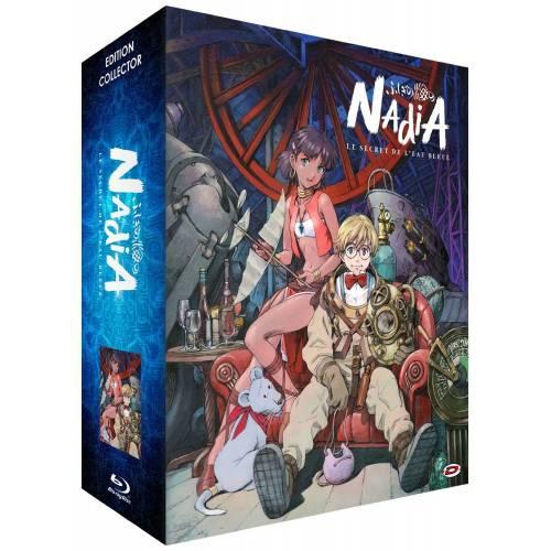 Blu-ray - Nadia, le secret de l'eau bleue : Intégrale - Edition collector limitée (Blu-ray + DVD)